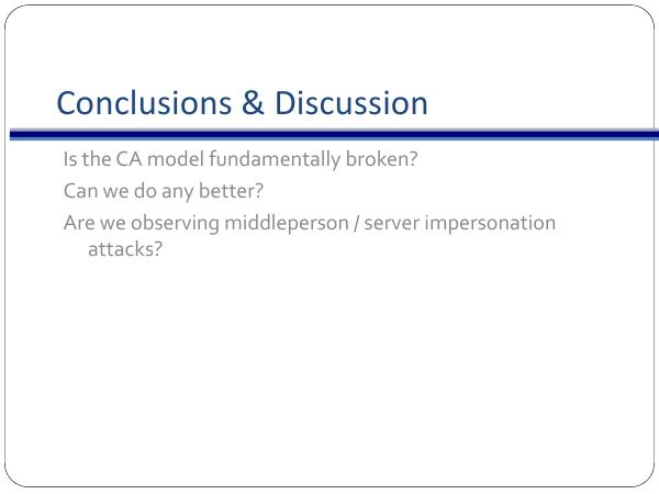 Defcon Presentation The Eff Ssl Observatory