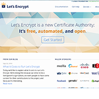 Let's Encrypt - Click to visit
