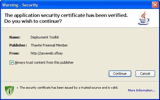 Java Code Signing Certificates