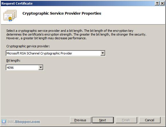 Installing an SSL Certificate in Windows Server 2008 (IIS 7.0)