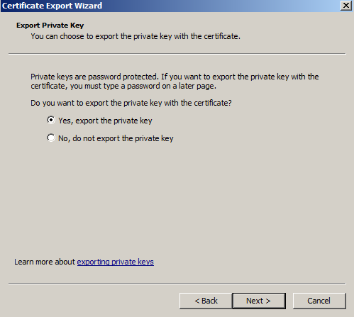 Move or copy an SSL certificate from a Windows server to an Apache ...